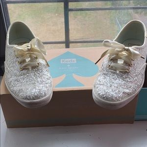 Kate Spade by keds glitter sneakers!!!